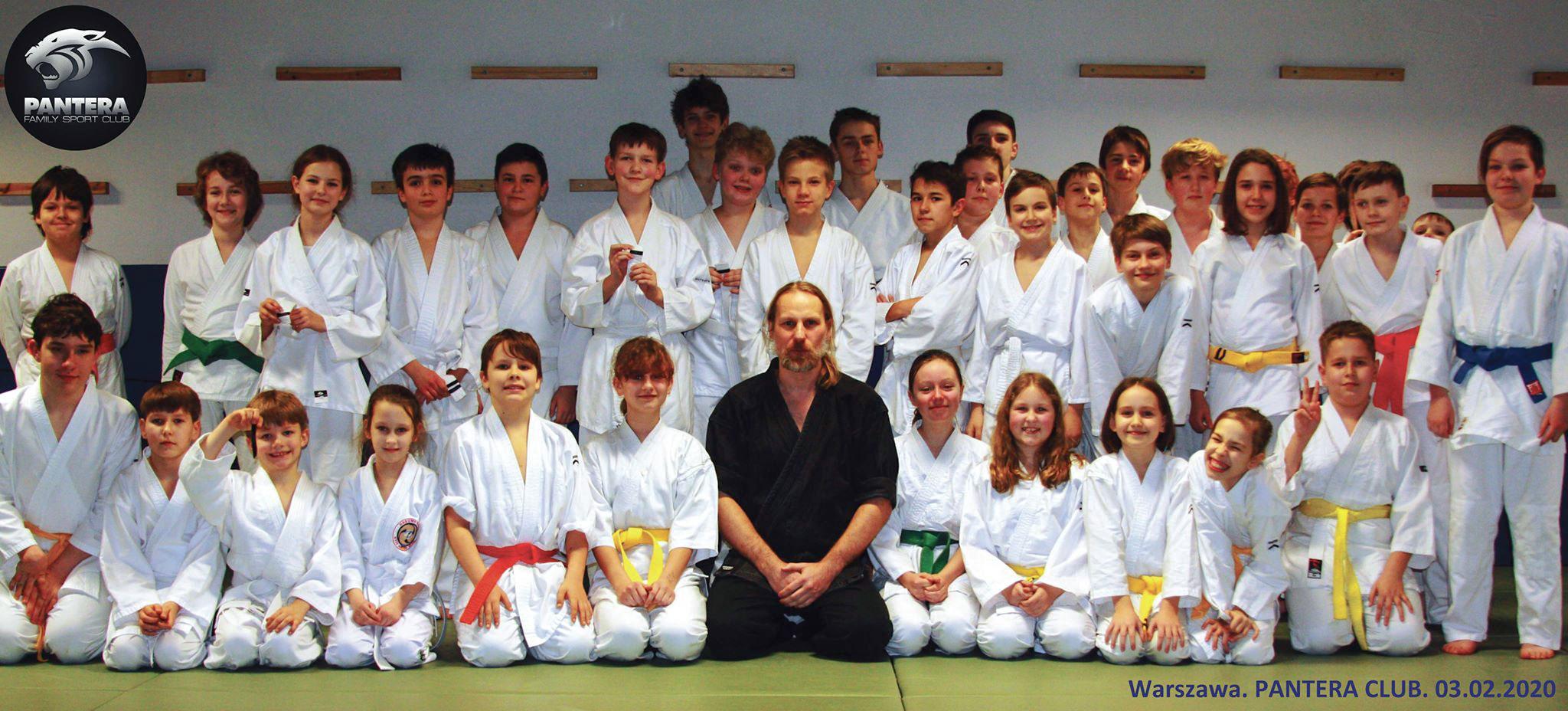 Egzaminy aikido budokai dla dzieci 2020
